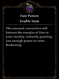 Fate potion