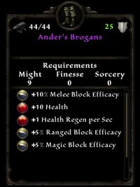 Anders brogans