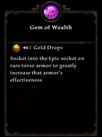 Gem of wealth