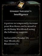 GreaterSorcerersIntelligence