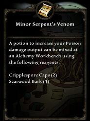 MinorSerpentsVenom