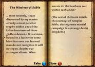Book missives sable p1