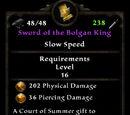 Sword of the Bolgan King