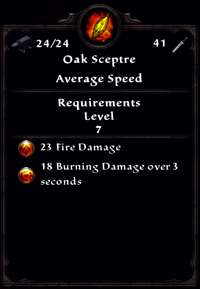 Fire Oak Sceptre Inventory