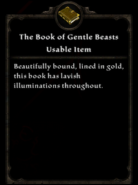 The Book of Gentle Beasts Item