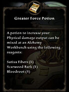 Recipe g force