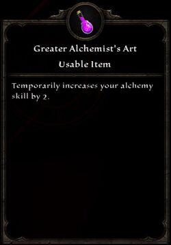 Greater Alchemists Art