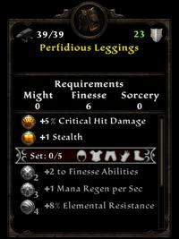Perfidious Leggings