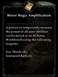 MinorMagicAmplification