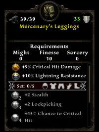 Mercenary leggings ib