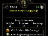 Mercenary's Leggings
