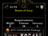 Boots of Fury