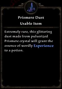 Prismere dust card