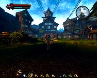 Gravehal keep courtyard complete