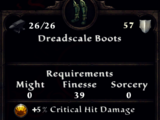 Dreadscale Boots