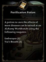 PurificationPotion
