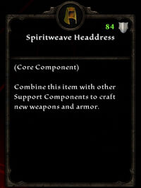 Spiritweave headdress