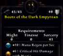 Boots of the Dark Empyrean
