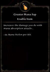 Greater Magic Sap