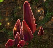 Scarlet Flowstone pile