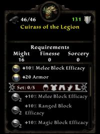 Cuirass of the legion
