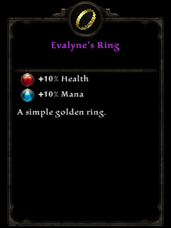Evalynes ring