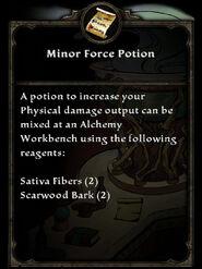 MinorForcePotion