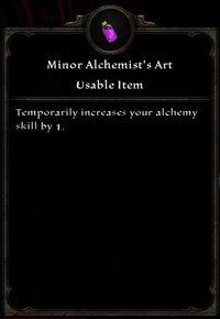 Minor Alchemist's Art