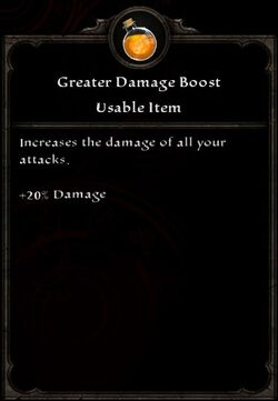 Greater Damage Boost
