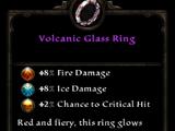 Volcanic Glass Ring