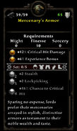 Mercenary armor