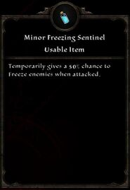 Minor Freezing Sentinel