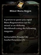 Minor Mana Regen Potion