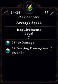 Frost Oak Sceptre Inventory