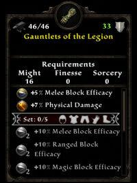 Legion gauntlets ib