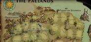Brigand Hall Caverns Faelands Map