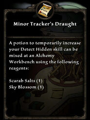 MinorTrackersDraught