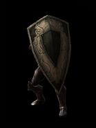 Crude iron kite shield eq