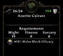 Azurite Cuirass