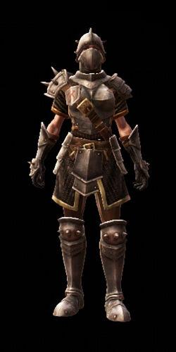 Thyrdon armor set front