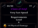 Claws of Astyl