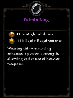 Fulmin Ring Inventory