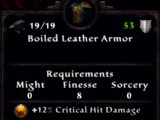 Boiled Leather Armor