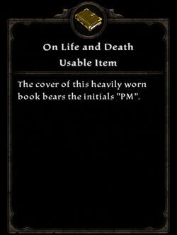 Book on life death