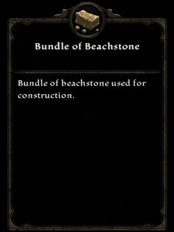 Bundle beachstone