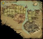 Faeland-map