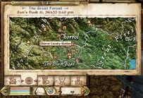 Chorrol Cavalry Station Map Marker