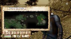 Welkynd Camp Location Map Mor Dradig