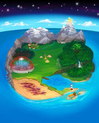 World map small