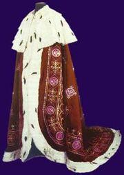 250px-Royal mantle of Sebia